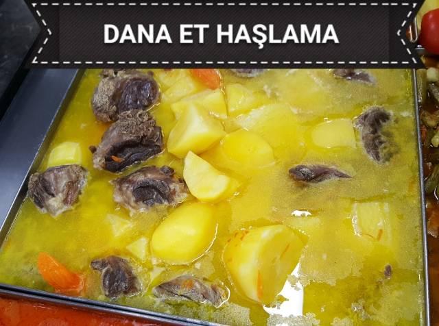 Dana Et Haşlama